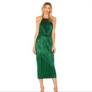 Farrah Dress in Emerald